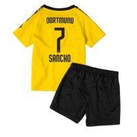Borussia Dortmund Jadon Sancho #7 Replica Home Baby Kit 2019-20(+ Short pants) Short Sleeve