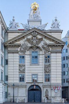 CityScape: Wien | Zentralfeuerwache Am Hof I by PhotoArtChris - Photo 186262897 / 500px
