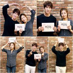 Yoo Yun Suk and Kang So Ra behind the scenes of Jeju Island Gatsby