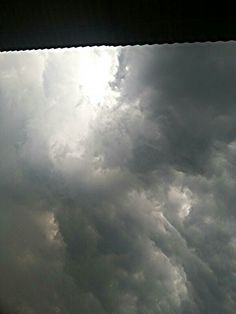 #Clouds  before #storm