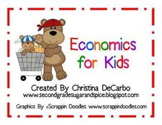 A KID-FRIENDLY & FUN 24 page economics learning pack for your students! This pack includes learning posters, printables, activities, and a cumulative project idea. Engage kids by learning the concepts of economics in a colorful and meaningful way! :) There are easily enough activities and learning packed into this unit for two to three weeks of lesson plans for your economy unit.