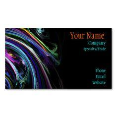 Colourful Art Business Card