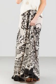 Collette Printed Maxi Skirt