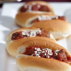 Mini Meatball Sub Sandwiches from Stonewall Kitchen