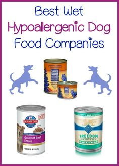 3 Best Wet Hypoallergenic Dog Food Companies Wet hypoallergenic dog food comes in as many varieties as dry. Here's a list of wet hypoallergenic dog food to help you choose the very best for your canine pal! Dog Training Methods, Best Dog Training, Hypoallergenic Dog Food, Grain Free Dog Food, Puppy Obedience Training, Positive Dog Training, Canned Dog Food, Wet Dog Food, Pet Food