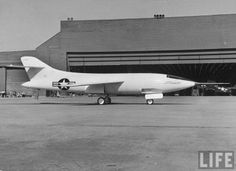 The Douglas Skyrocket (D-558-2 or D-558-II) was a rocket and jet-powered supersonic research aircraft built by the Douglas Aircraft Company for the United States Navy. On November 20, 1953, shortly before the 50th anniversary of powered flight, Scott Crossfield piloted the Douglas D-558-2 Skyrocket to Mach 2, or more than 1,290 mph, the first time an aircraft had exceeded twice the speed of sound.