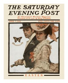 Easter, c.1906 Print by Joseph Christian Leyendecker at Art.com