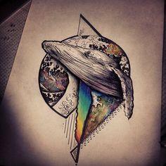 #space #sketches #broslavskiy #tattoo #a3metric