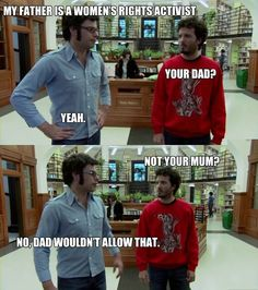 Women's Rights, Flight of the Conchords Style.