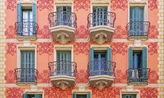 Patterns of Barcelona: photographer captures symmetry of city facades – in pictures | Cities | The Guardian