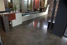 Black Concrete Floors Max Power Concrete Columbus, OH color of the stain Painting Tile Floors, Painting Concrete, Basement Flooring, Grey Flooring, Flooring Tiles, Floor Stain, Stain Concrete, Stamped Concrete, Acid Stained Concrete