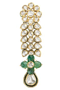 ;Crescent Plumage earring, Khanna Jewellers