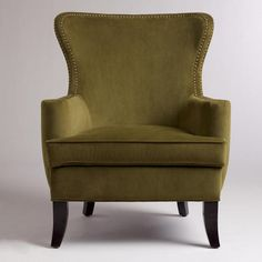 One of these days, I'm going to have a lady chair to curl up in.  Caper Elliott Wingback Chair