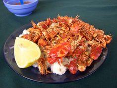 Cangrejitos de Tomatitas, Tarija one of my favorite meals from the lake in Tarija