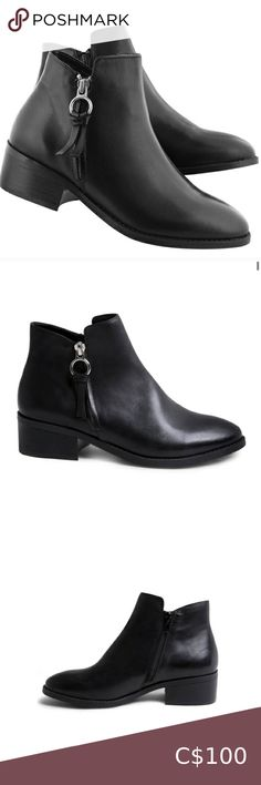 Steve Madden Dacey Bootie Steve Madden Dacey Bootie  Size 7  Excellent condition. Only worn once. Steve Madden Shoes Ankle Boots & Booties Leather Booties, Black Booties, Leather Ankle Boots, Ankle Booties, Suede Leather, Bootie Boots, Fringe Sandals, Steve Madden Boots, Boot Brands
