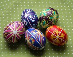 Happy Easter! Traditional Art of Decorating Eggs in Slovakia - travel potpourri