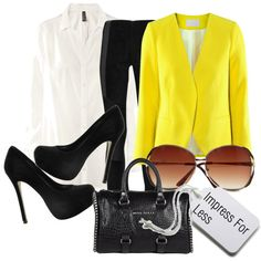 Untitled #53, created by oohlalablog on Polyvore... Kim K Inspired Spring Outfit