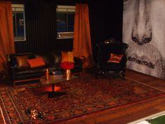 Klassischer Teppich in moderner Umgebung
