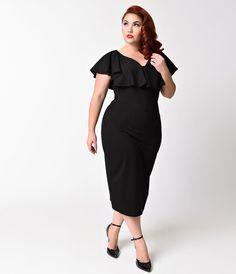 69b719f402857f 10 Best Maybe dresses images | Unique vintage, Plus size dresses ...