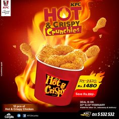 Shifan Riyas on Behance Crispy Chicken, Ui Ux Design, Kfc, Motion Design, Behance, Chicken Flatbread