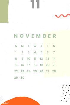 Wonderful Snap Shots November calendar 2020 Concepts Schedules have grown essential elements regarding preparing each day life. September Calendar, Calendar 2020, Calendar Design Template, Calendar Wallpaper, Photo Calendar, Free Printable Calendar, Note Paper, Planner Pages, Colorful Wallpaper