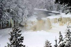 Tequamenon falls, Newberry, Mi.