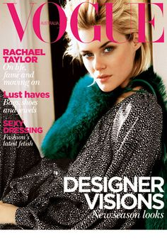 August 2011. Model: Rachel Taylor. Subscribe here: http://www.magsonline.com.au