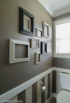 diy half bath renovation, bathroom ideas, home decor