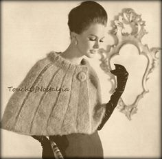 INSTANT DOWNLOAD  This is for the PDF Version of the Vintage Pattern REPRODUCTION:  (NOT Original and Not Finished Item) Beautiful GALA EVENING