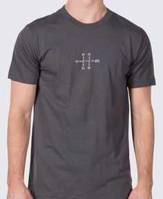 Alcohol chemical structure shirt. http://myviceshirts.com