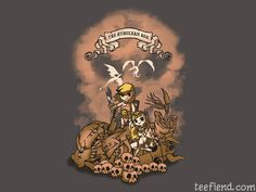 """""""The Hyrulean Age"""" by ArinesArt is only $11 today at OtherTees http://www.teefiend.com/402/the-hyrulean-age/"""