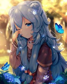 Find images and videos about cute, anime and kawaii on We Heart It - the app to get lost in what you love. Manga Girl, Anime Girls, Anime Girl Cute, Kawaii Anime Girl, Lolis Neko, Anime Neko, Art Anime, Anime Art Girl, Chibi