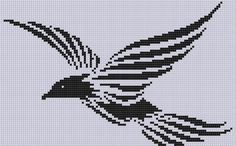 Looking for your next project? You're going to love Bird Cross Stitch Pattern  by designer Motherbeedesigns.