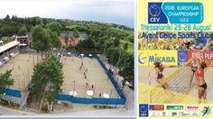 Europeu de Voleibol Sub-22: Portugal leva duas duplas a Salónica