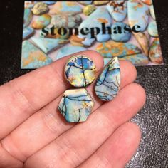 Oh these are so pretty great work @stonephase !  These available for custom pieces and are perfect size for rings!