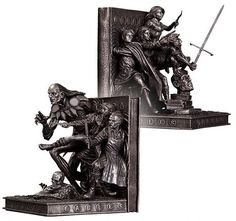 THE BEST VERTIGO BOOK SINCE SANDMAN FINALLY GETS A SET OF BOOKENDS THAT ARE TOO COOL TO HIDE ON A SHELF!  Fables Bookends