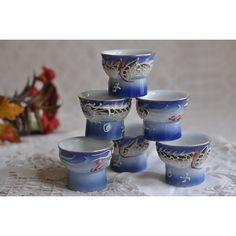 Porcelaine Céramique Acier Forks Shabby Chic Floral Bleu Couverts Fantaisie Fine Dining