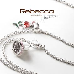 Charming Necklace, anyone?  Compose your necklace, charm after charm... Find out brand new My WorLd Charm jewels at your nearest Rebecca store!    #rebeccajewels#necklace#charm#new