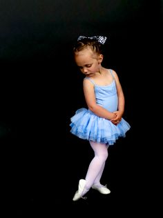 Little ballerina in blue. #backdropz #ballet #dancephotography