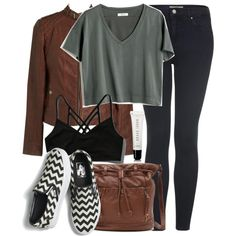 Hayden Inspired Outfit by veterization on Polyvore featuring moda, Madewell, Bernardo, Topshop, Abercrombie & Fitch, Vans, Kirra and Bobbi Brown Cosmetics