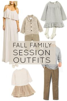 Fall Family Session Outfit Ideas with direct links to some of my favorite outfits this fall!