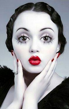 perfect betty boop so cute halloween makeup ideas for women