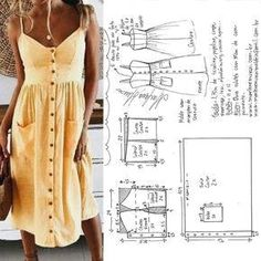 Clothes Crafts Diy Dress Tube Sewing Patterns Modeling Build Your Own Knifes How To Make Crafts Diy Clothes Dress Sewing Patterns, Clothing Patterns, Sun Dress Patterns, Dress Paterns, Pattern Dress, Knitting Patterns, Fashion Sewing, Diy Fashion, Moda Fashion