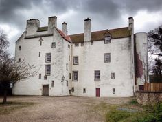 Rossend Castle, Burntisland, Scotland, built in 1119. Mary Queen of Scots and the armies of Oliver Cromwell were here. The castle was nearly demolished but was saved and restored by an architects firm in 1975 who still own it and use it as offices today.