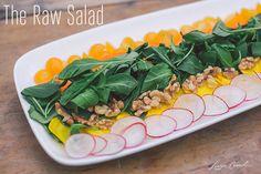 Recipe Box: Four Tasty Spring Salads {The Raw Salad Recipe}