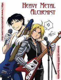 Fullmetal Alchemist - Heavy Metal Alchemist!