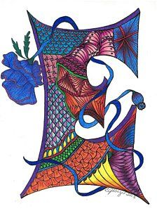 Excellent Etch Art Print by Jeanine Noegel. All prints are professionally printed, packaged, and shipped within 3 - 4 business days. Choose from multiple sizes and hundreds of frame and mat options. Flower Alphabet, Alphabet Art, Alphabet Fonts, Letter A Crafts, Craft Letters, Thing 1, Bullet Journal Art, Illuminated Letters, Handmade Books