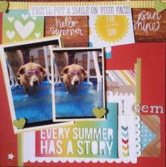 Layout: **Every Summer Has A Story**