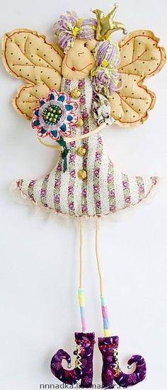 текстильные куклы - В рукоделии - мир уникальных изделий