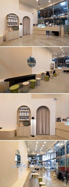 Modern interior design – Home Decor Interior Designs Cafe Design, Store Design, House Design, Modern Cafe, Art Deco Bedroom, Cozy Cafe, Cafe Style, Cafe Interior, Commercial Design
